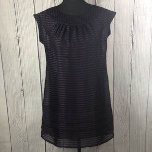 2/$20 - Banana Republic Sheer Purple Mini Dress